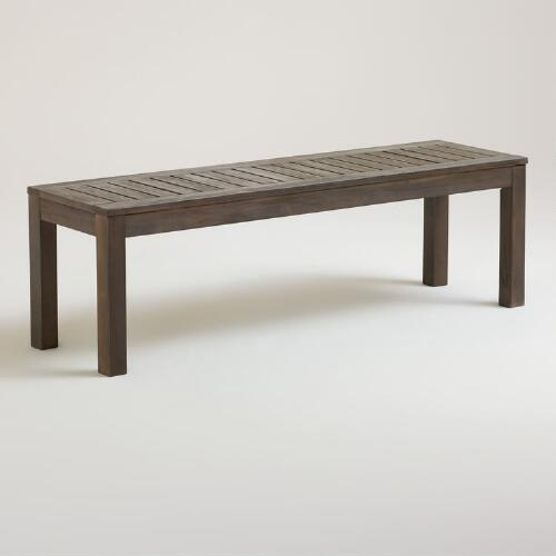 Laguna Outdoor Backless Dining Bench