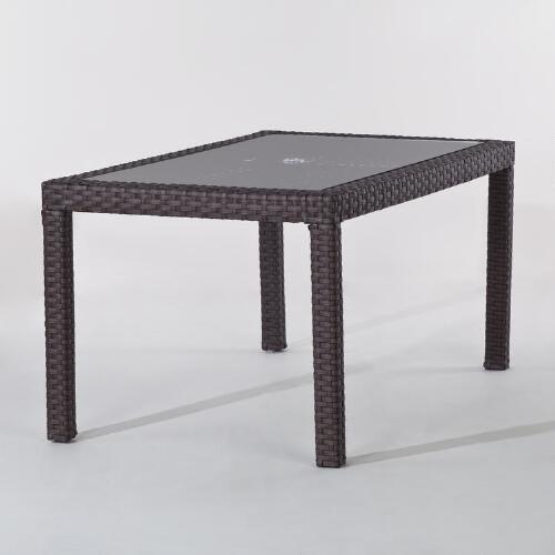 Melbourne All-Weather Wicker Dining Table