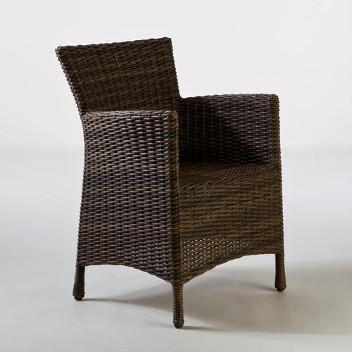 Madras Solano All-Weather Wicker Arm Chair