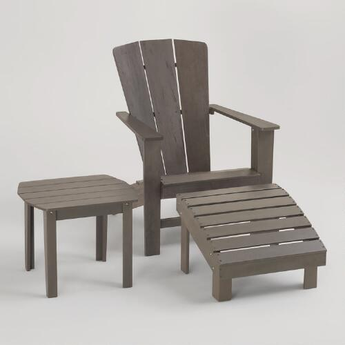 Gray Coastal Adirondack Collection
