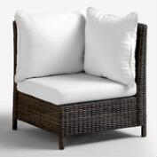 All Weather Wicker Solano Sectional Armchair