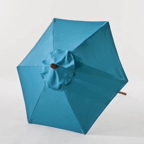 5-Ft. Pagoda Blue Umbrella