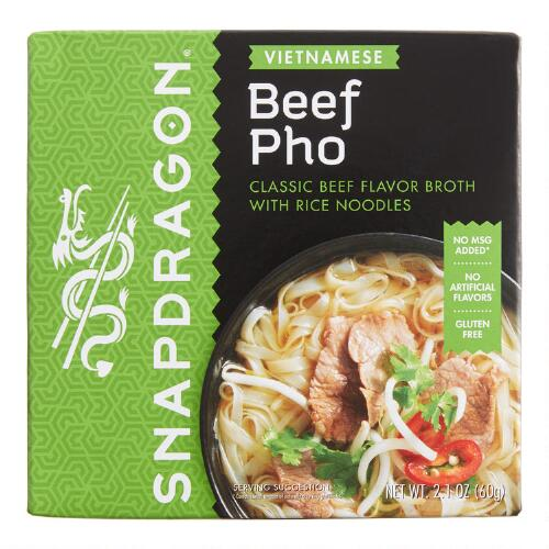 Snapdragon Pho Soup, Set of 6