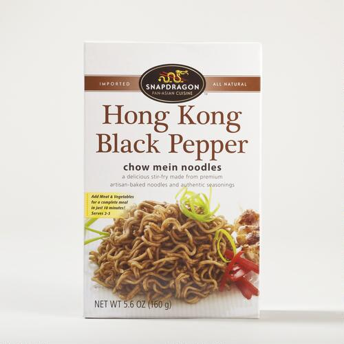 Snapdragon Hong Kong Black Pepper Chow Mein Noodles