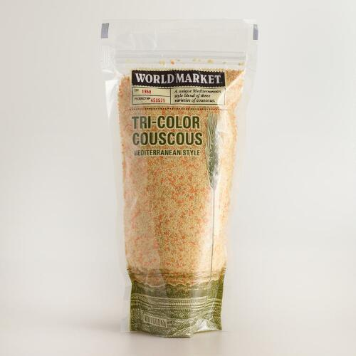 World Market Tri-Color Couscous