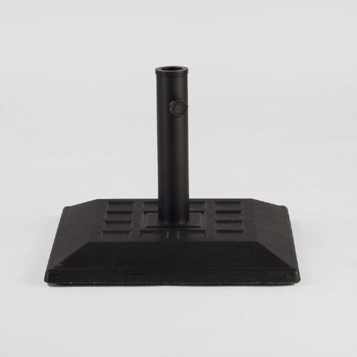Black Square Umbrella Stand