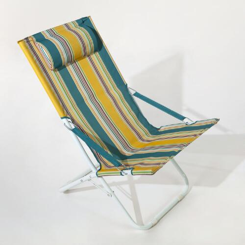 Sambal Multi-Stripe Beach Chair
