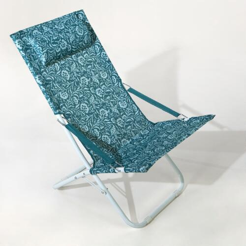 Parnavi Blue Beach Chair
