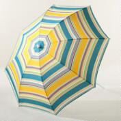 Sambal Multi-Stripe Beach Umbrella