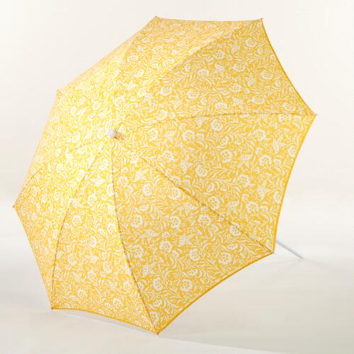 Spectra Yellow Parnavi Beach Umbrella