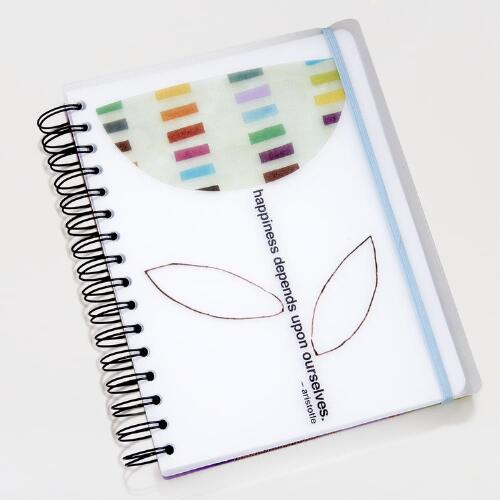 Flower Spiral-Bound Notebook