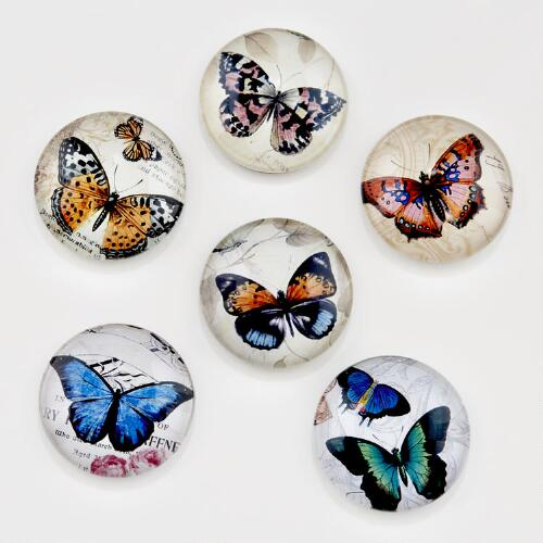 Butterfly Magnets, Set of 6