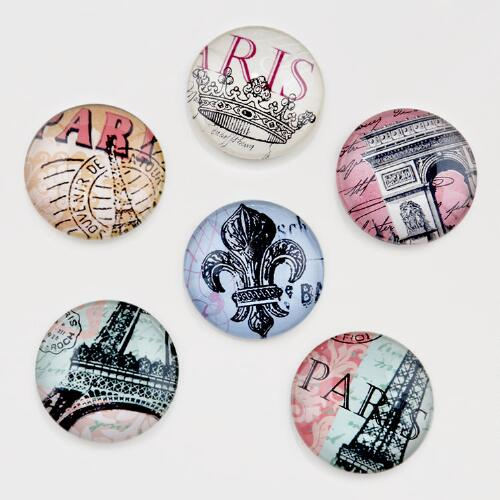 Paris Magnets, Set of 6