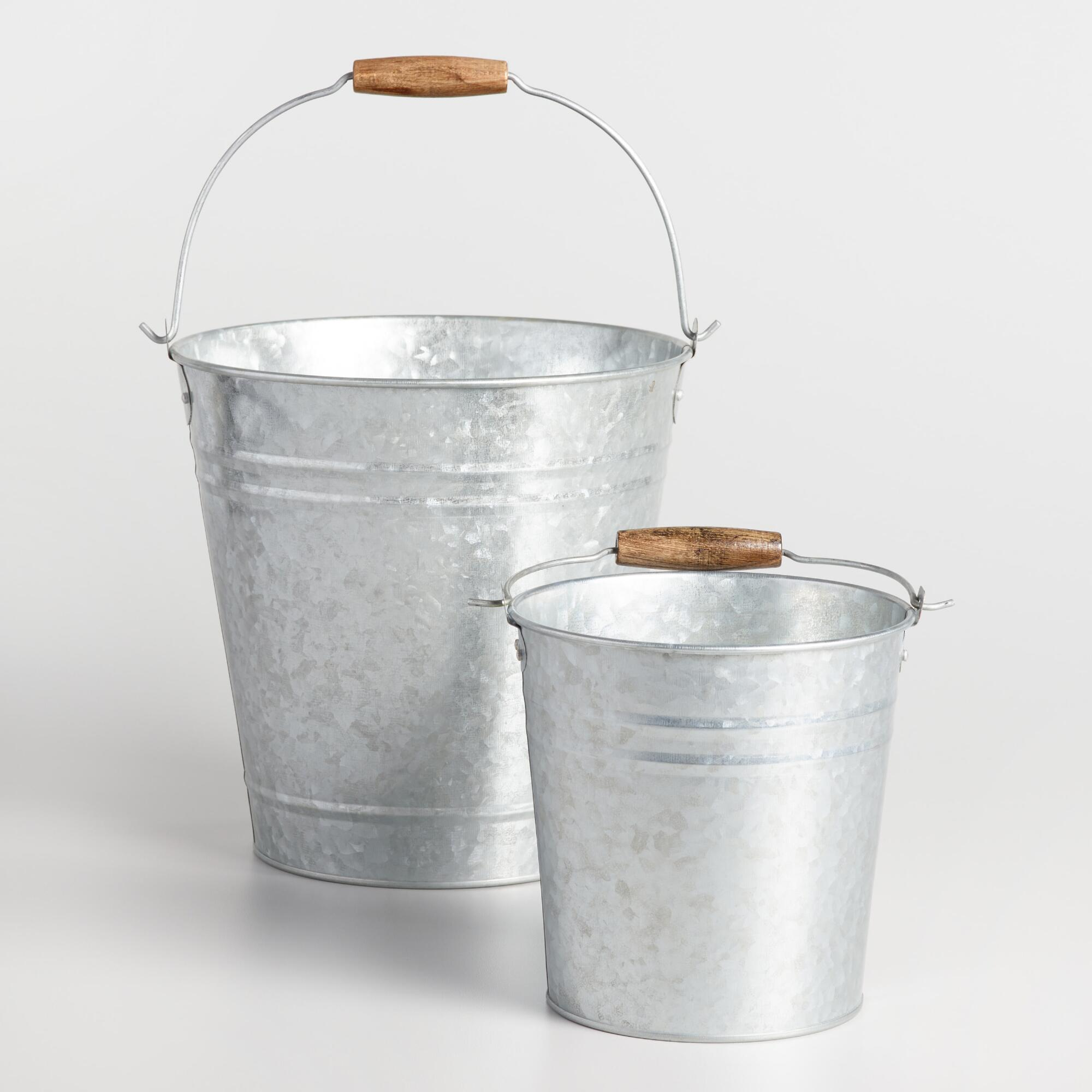 galvanized metal pails world market