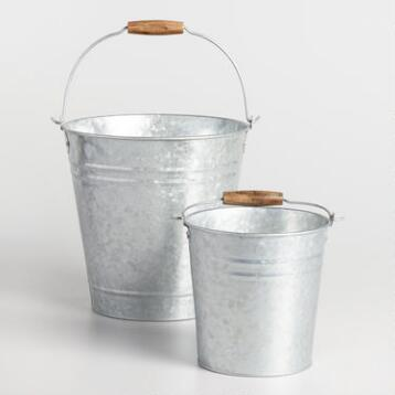 Galvanized Metal Pails