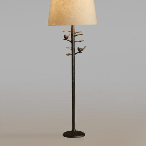 Woodlands Floor Lamp Base
