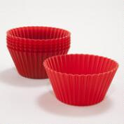 Red Silicone Baking Cups