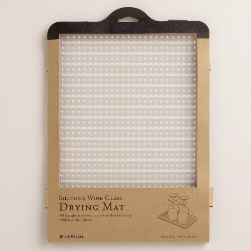 Glass Drying Mat