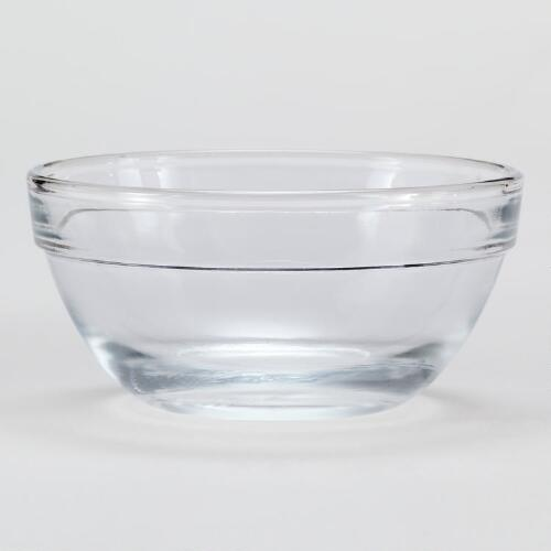 Glass Prep Bowls, Set of 24