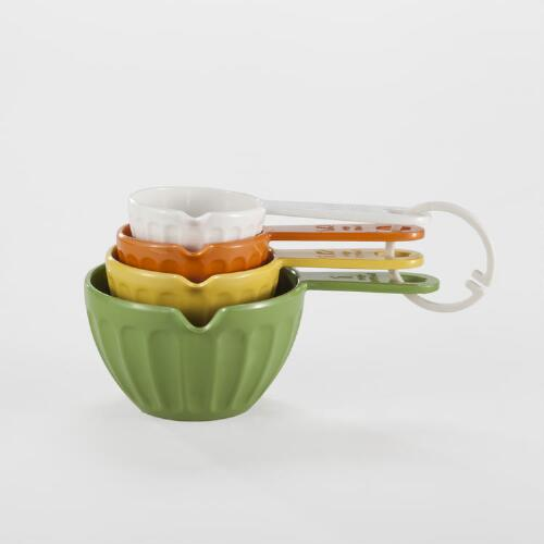 4-Piece Melamine Measuring Cup Set