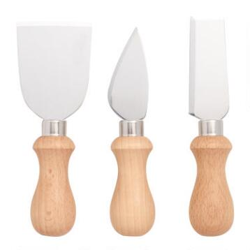 Cheese Knives, Set of 3