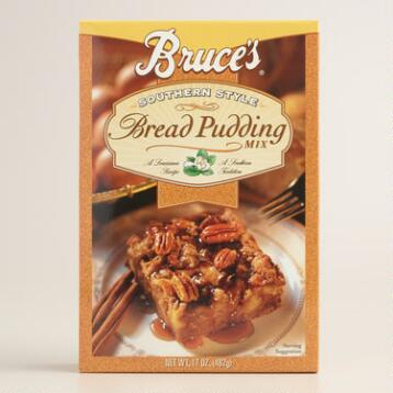 Bruce's Southern Style Bread Pudding Mix, Set of 2