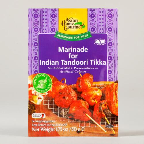 Asian Home Gourmet Indian Tandoori Tikka Marinade