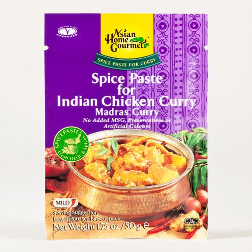 Asian Home Gourmet Indian Chicken Curry Spice Paste