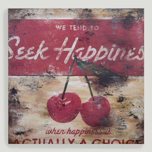 "Rodney White ""Seek Happiness"" Fine Art Print"