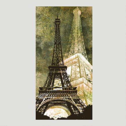 Eiffel Tower Canvas Wall Art Decal