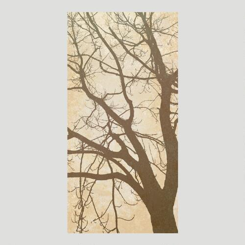 Tree Silhouette Canvas Wall Art Decal