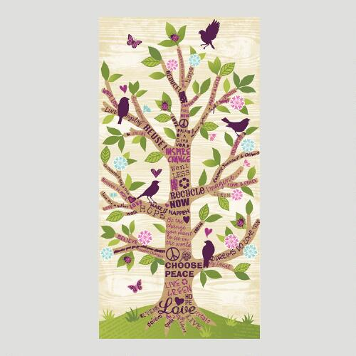 Empowerment Tree Canvas Wall Art Decal