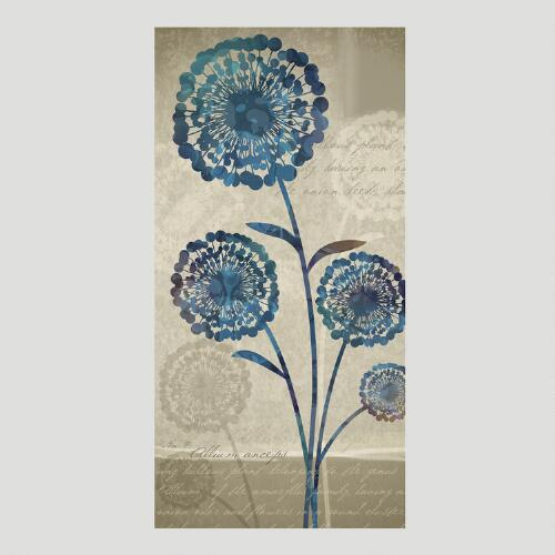 Alliums Canvas Wall Art Decal