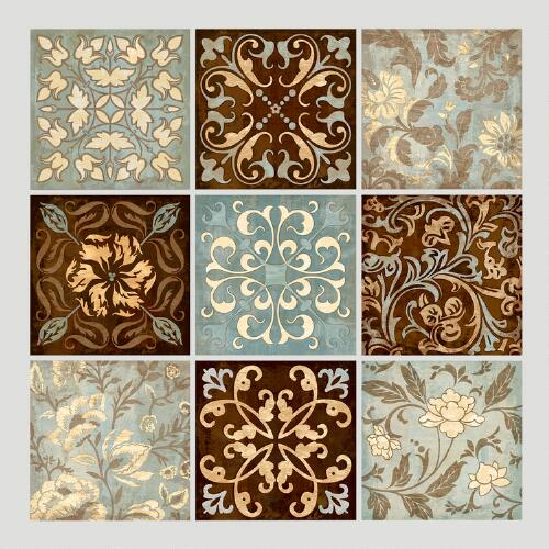 Venetian Tiles Wall Decals