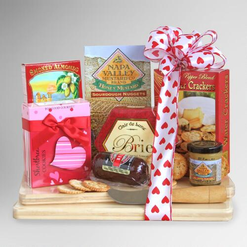 Valentine Cheeseboard Picnic Gift Set