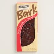 World Market Dark Chocolate Bark with Cranberry, Set of 2