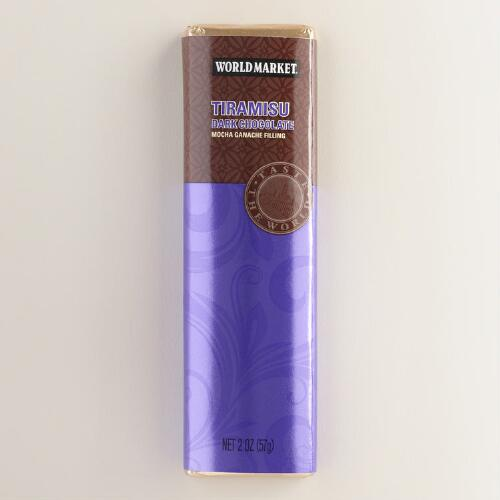 World Market Tiramisu Dark Chocolate Bar, Set of 2