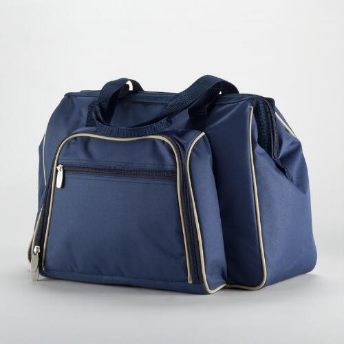 Navy Insulated Picnic Pack