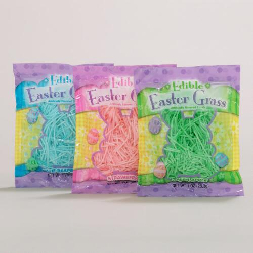 Edible Easter Grass, Set of 3