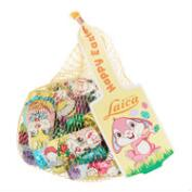 Laica Mesh Bag of Milk Chocolate Bunnies and Eggs