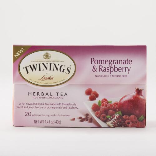 Twinings Pomegranate Raspberry Tea, 20-Count