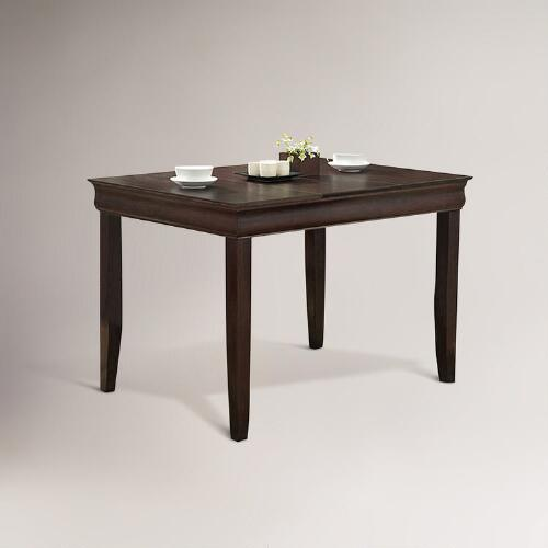 Espresso Preston Dining Table