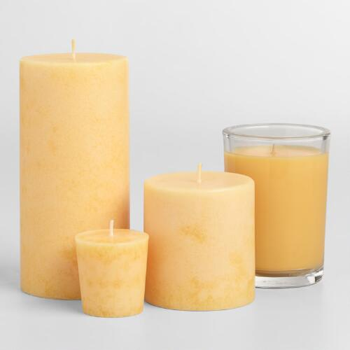 Polynesian Pineapple Candles