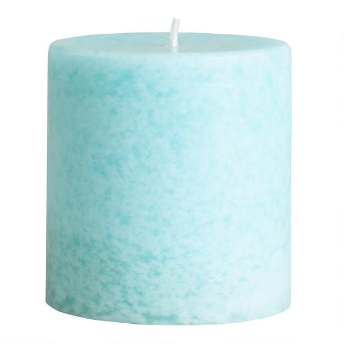 "3"" x 3"" Mediterranean Sea Pillar Candle"