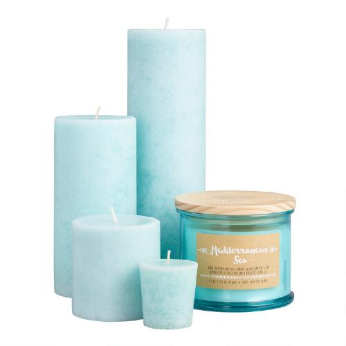 Mediterranean Sea Candles