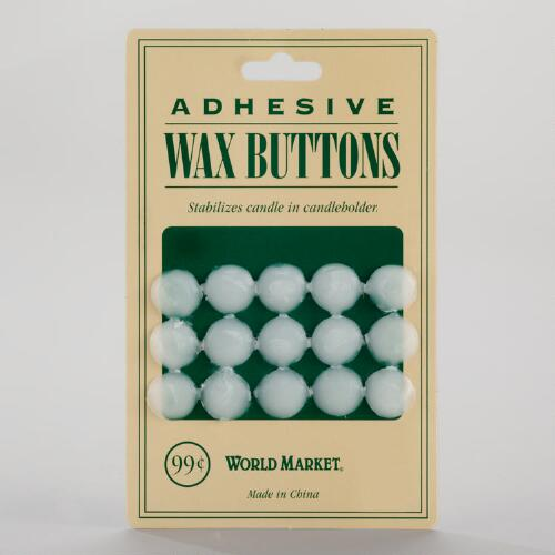 Adhesive Wax Candle Buttons