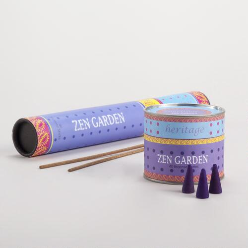 Zen Garden Incense Collection