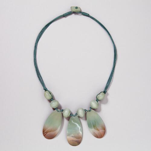 Ombre Cabibe Shell Necklace