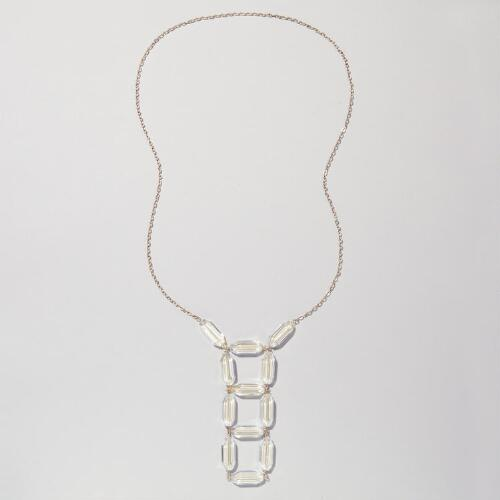 Glass Ladder Necklace