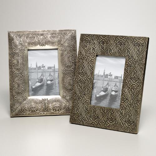 Syona Patterned Frame, Set of 2